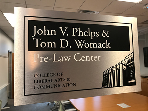 Pre Law Center Dedication